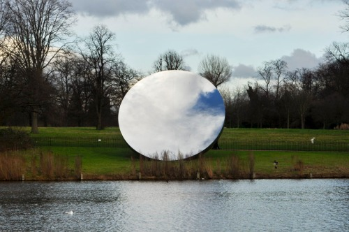 Sky Mirror by Anish Kapoor