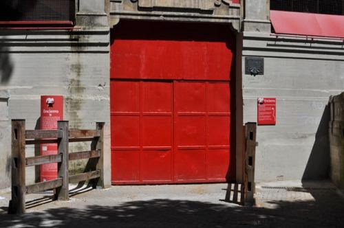 Plaza de Toros Bull Entrance