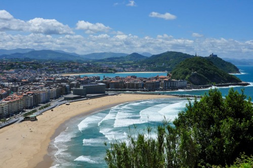 The Three Beaches of San Sebastian