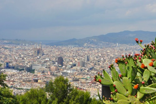 View of Barcelona from Montjuïc Castle
