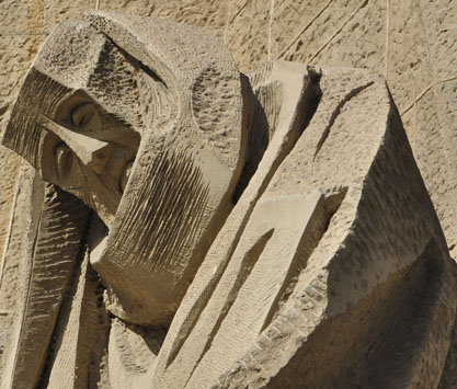 Passion Facade Sculpture