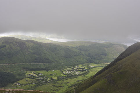 View from Ben Nevis Trail