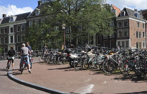 The Bikes of Amsterdam