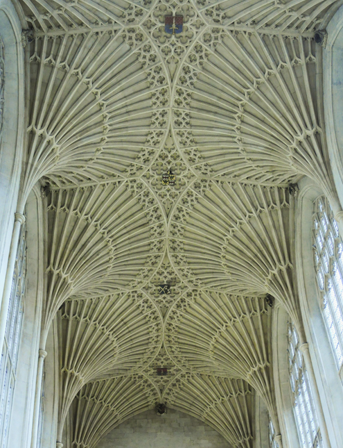 Bath Abbey Fan Vault Ceiling
