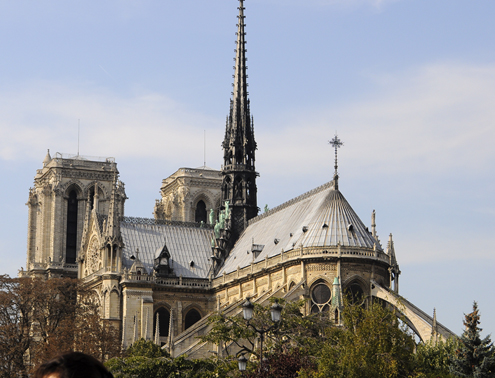 East End of Notre-Dame Cathedral