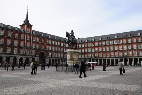 Plaza Mayor with Philip III