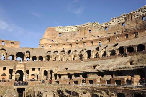 The Colosseum Tiers