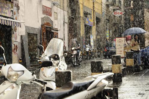 Rainy Naples
