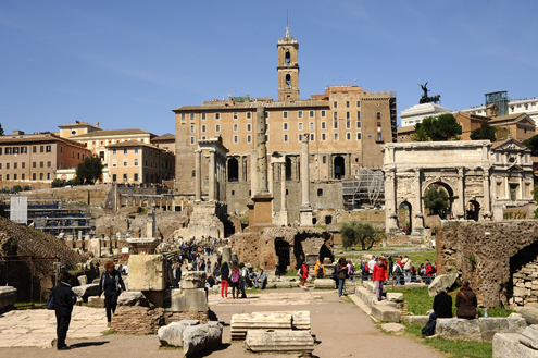 Roman Forum Main Square
