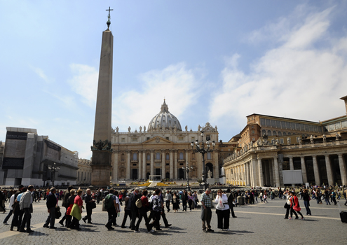 St. Peter's Basilica and Square