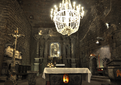 Altar of the Chapel of the Blessed Kinga