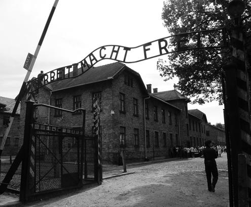 Auschwitz I Main Gate