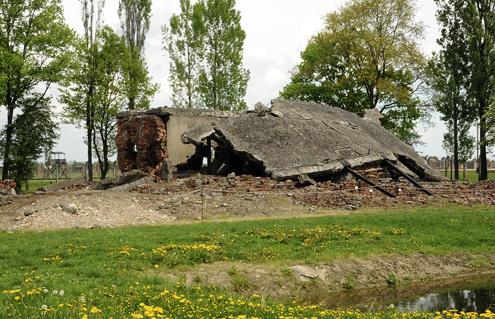 Ruins of a crematorium