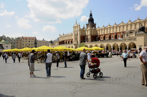 Cloth Hall in Main Market Square
