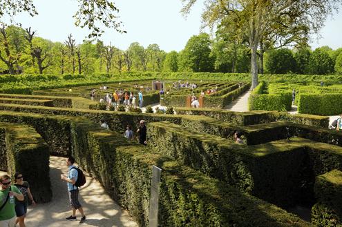 Schonbrunn Maze