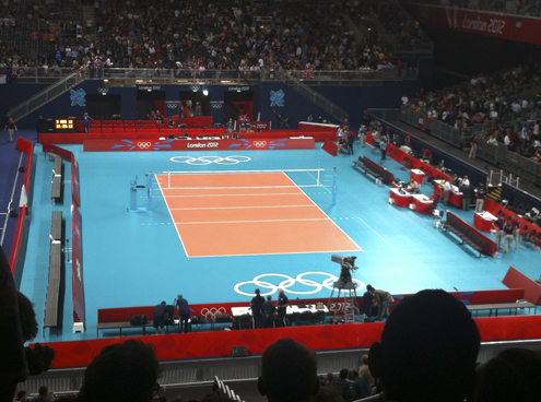 Women's Olympic Volleyball - Earls Court