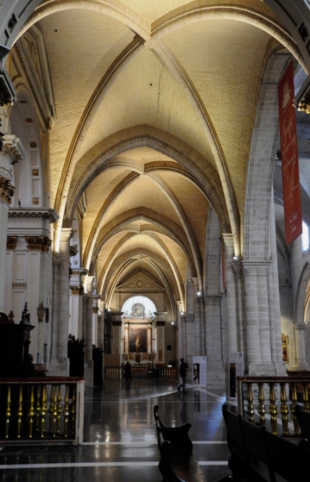 Valencia Cathedral Aisle