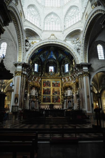 Valencia Cathedral Altar