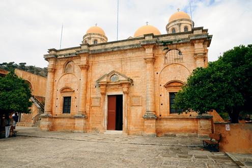 Agiá Triáda Monastery(Monastery Church)