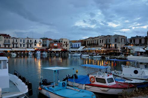 Réthimno Venetian Harbor