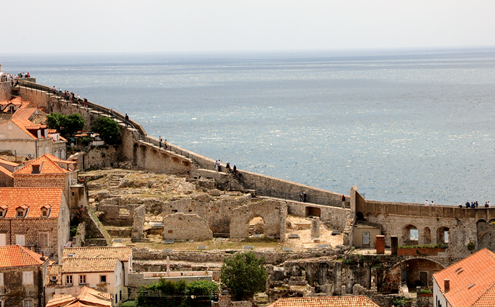 Landward Side Walls